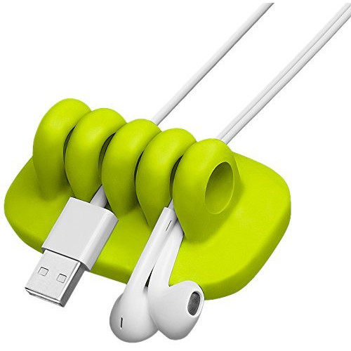 Buy Quirky Cordies Cable Holder Green in Bahrain, Bahrain at Great.