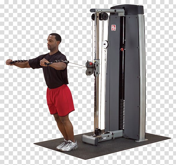 Cable machine Exercise machine Pulley, Weight Machine.