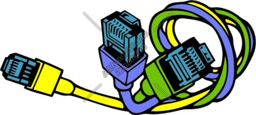 Cables clipart.
