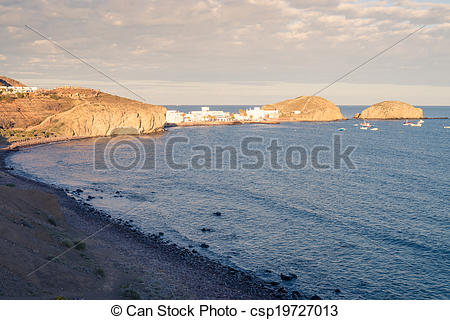 Stock Photography of Cabo de Gata.
