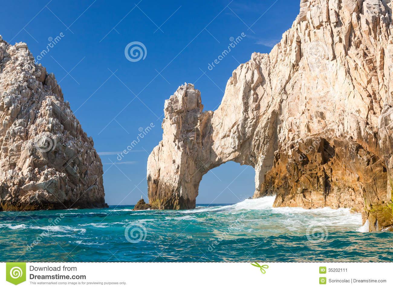 Cabo San Lucas, Mexico Stock Image.