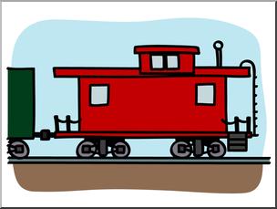 Caboose Clipart Free Download Clip Art.