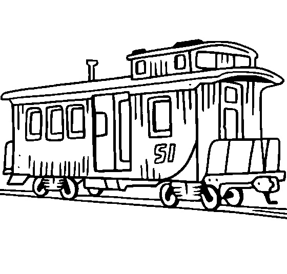 Caboose clipart 10.