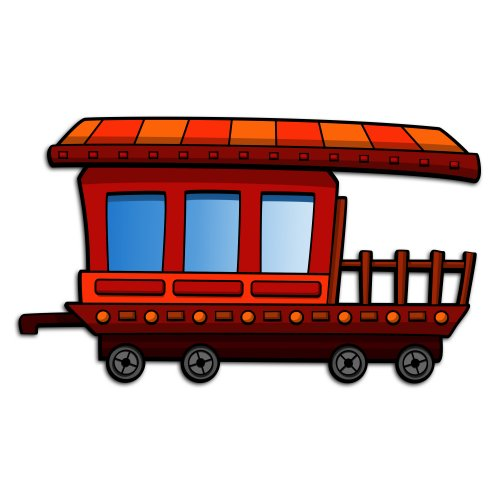 63+ Caboose Clipart.