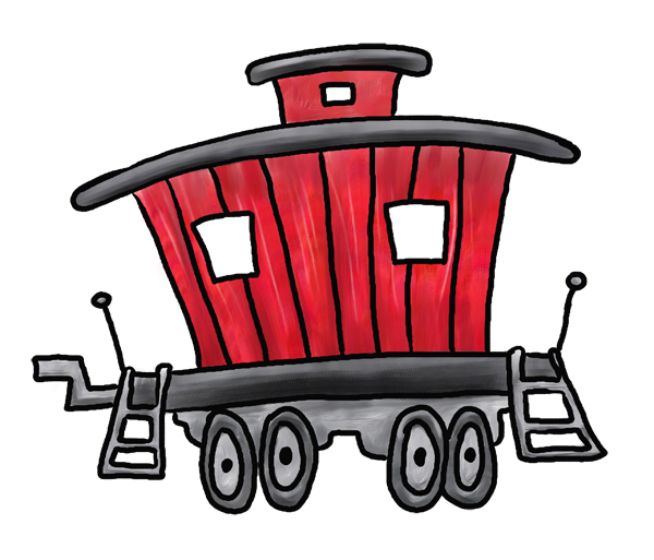 Best Caboose Clipart #14418.