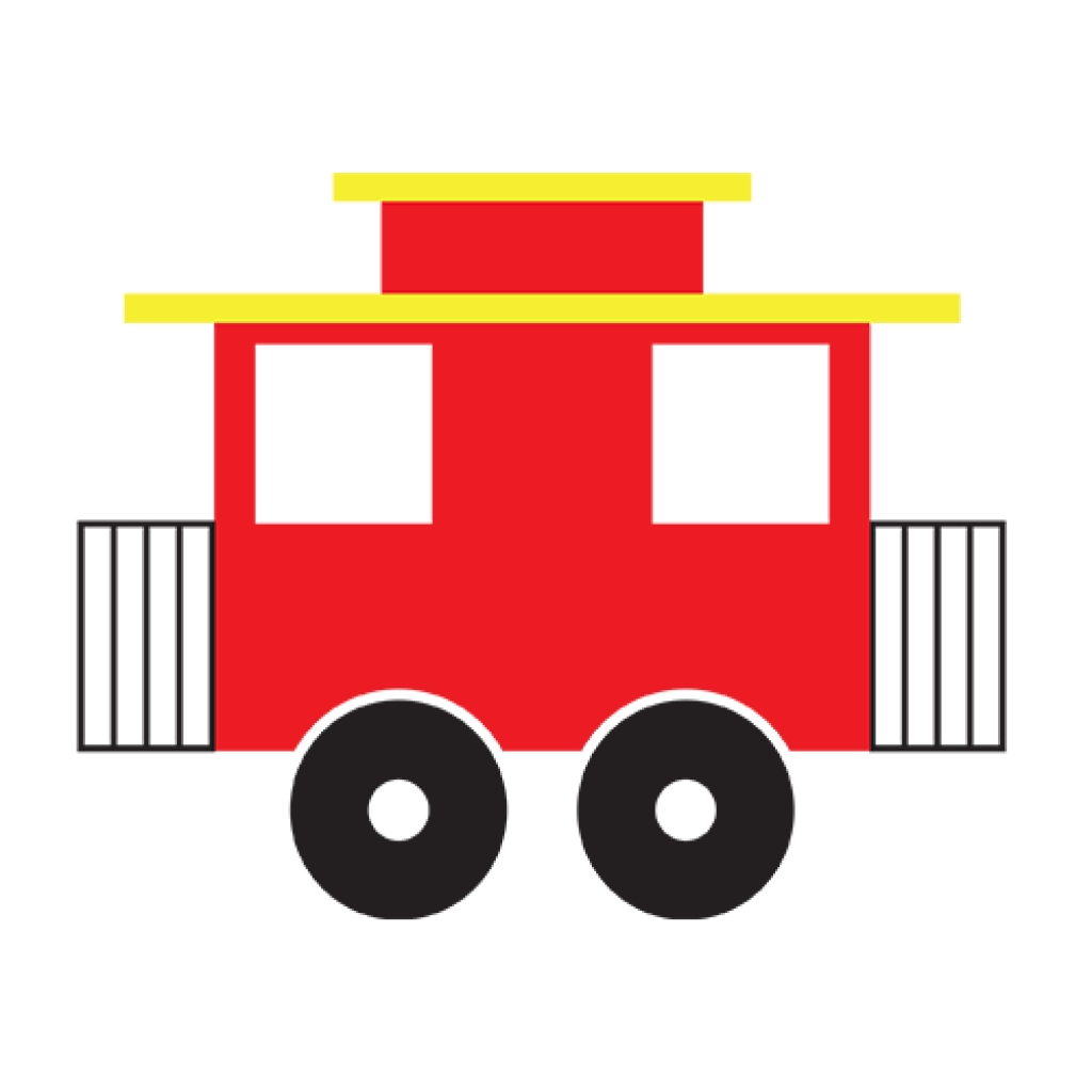 Caboose Clipart.