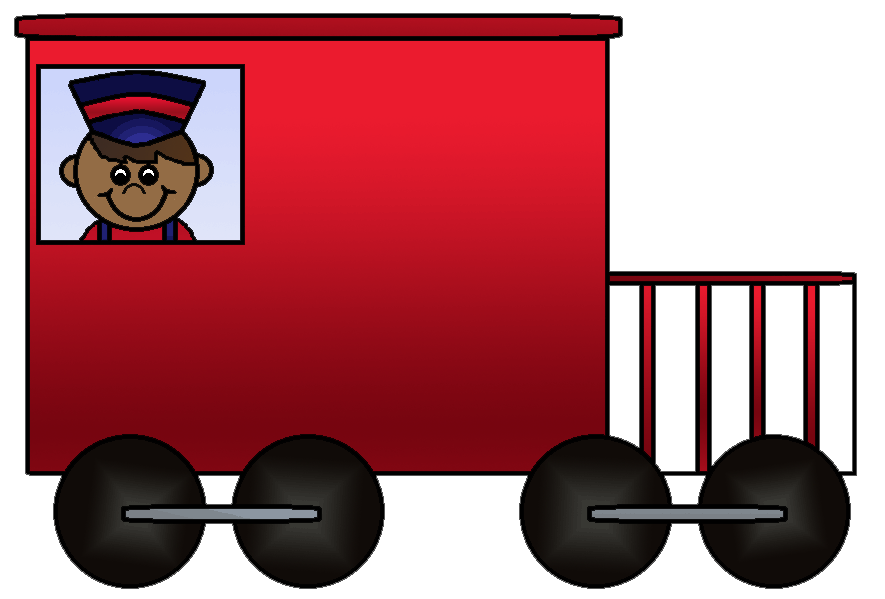 Best Caboose Clipart #14420.
