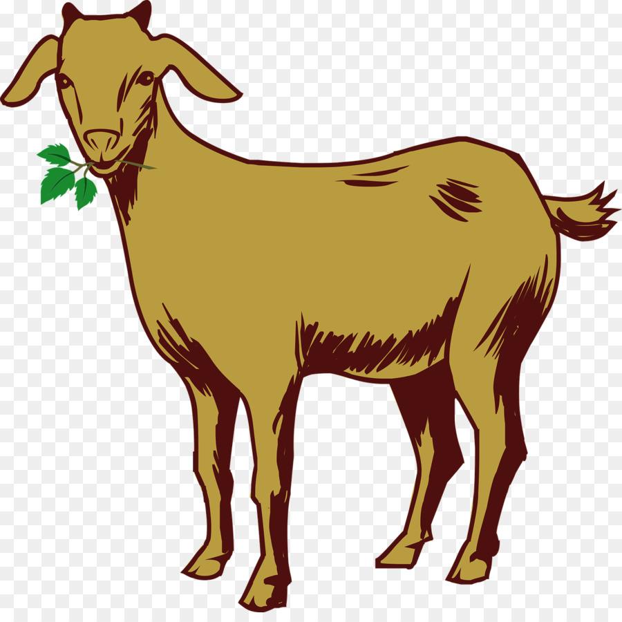 Goat Cartoon clipart.