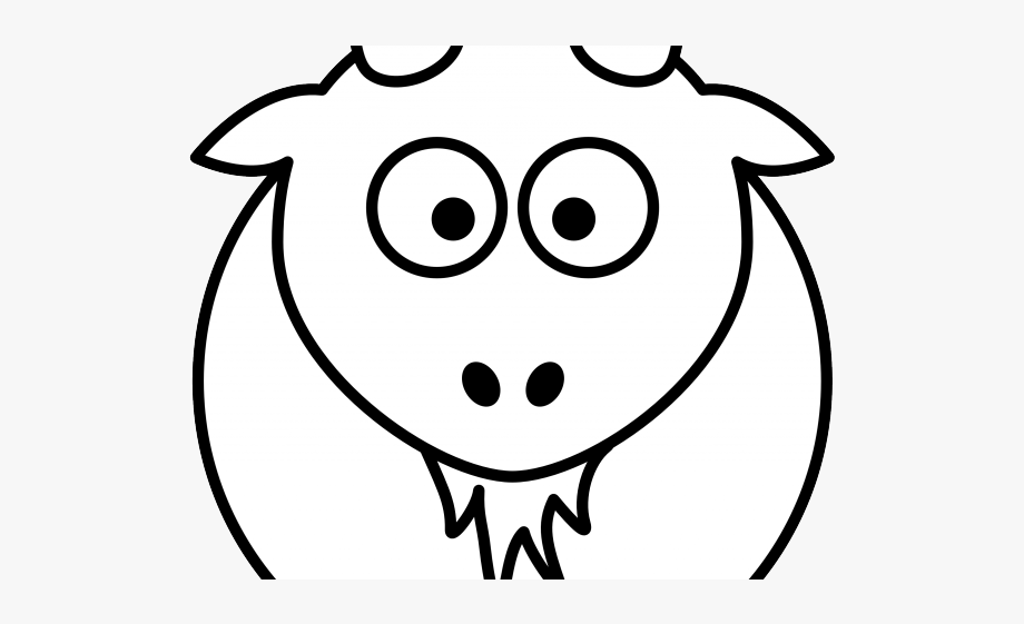 Billy Goat Clipart Indian Goat.