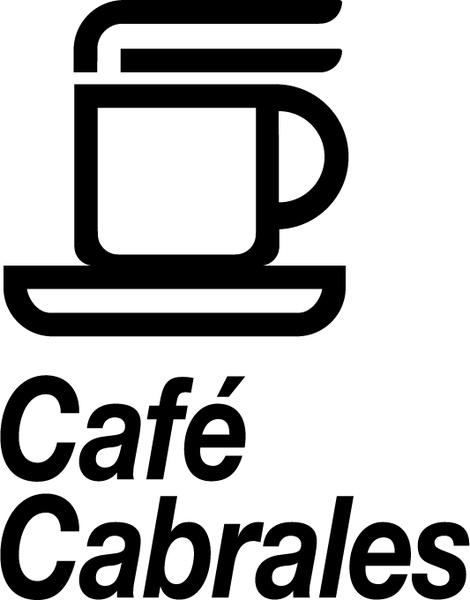 Cafe cabrales Free vector in Encapsulated PostScript eps ( .eps.