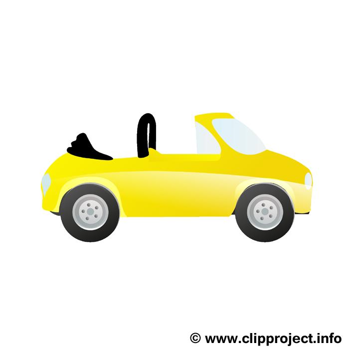 Cabrio Clipart kostenlos.