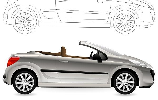 Cartoon Convertible Car Clip Art Download 1,000 clip arts (Page 1.