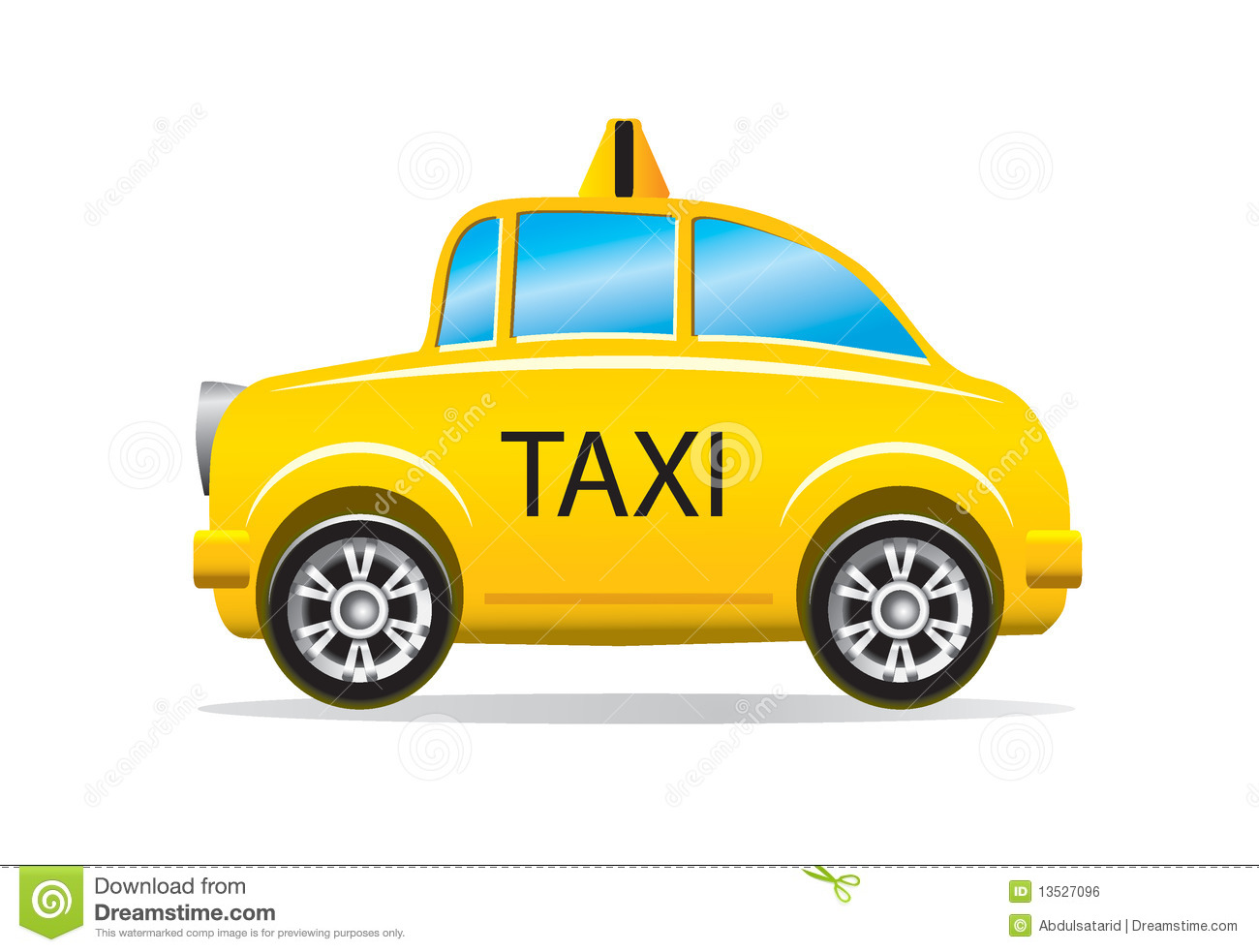 Taxi Stock Illustrations.