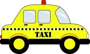 Checker cab clipart.