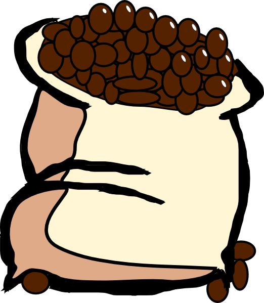 Cocoa Beans Clipart.