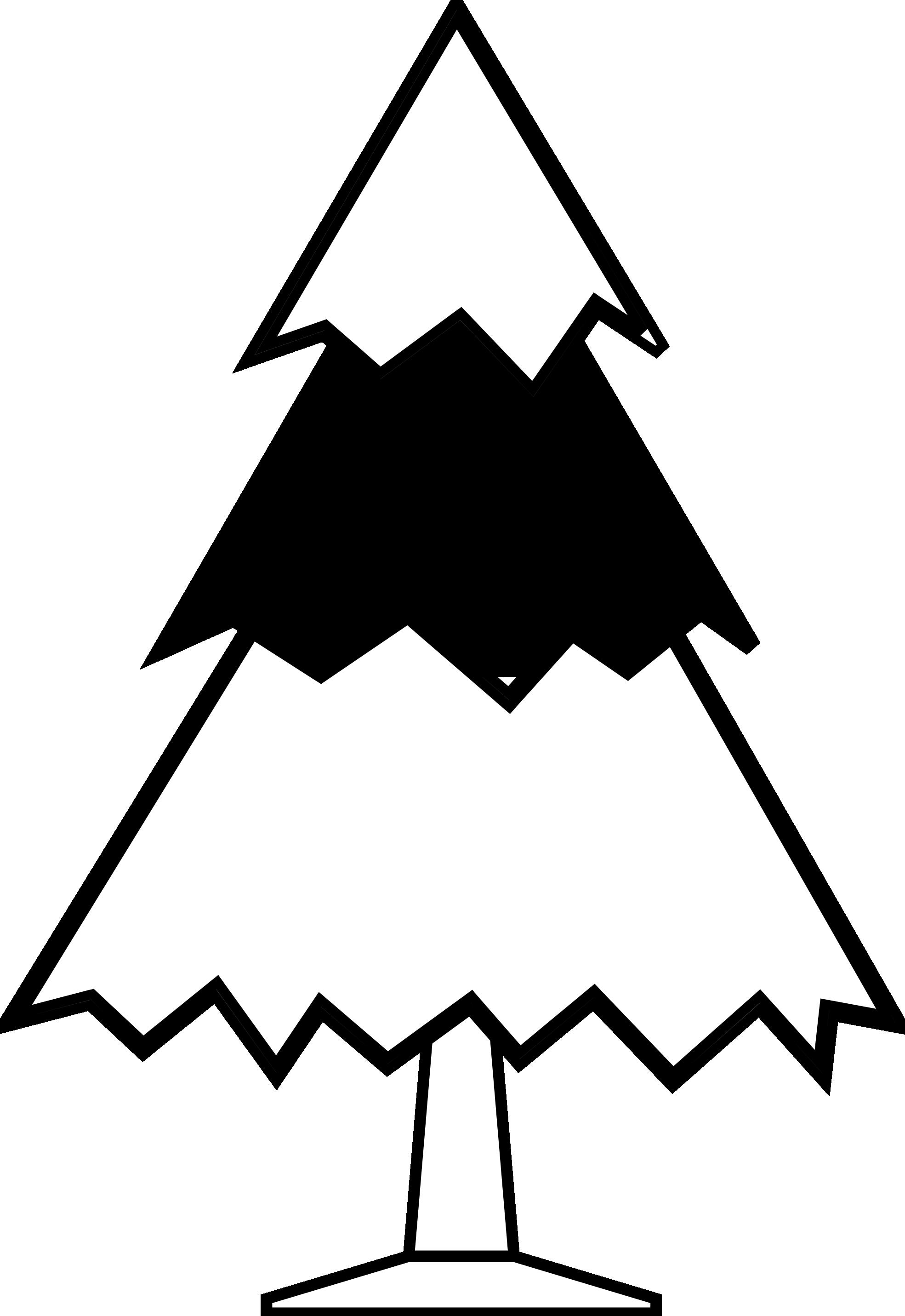 Christmas Clip Art Black White.
