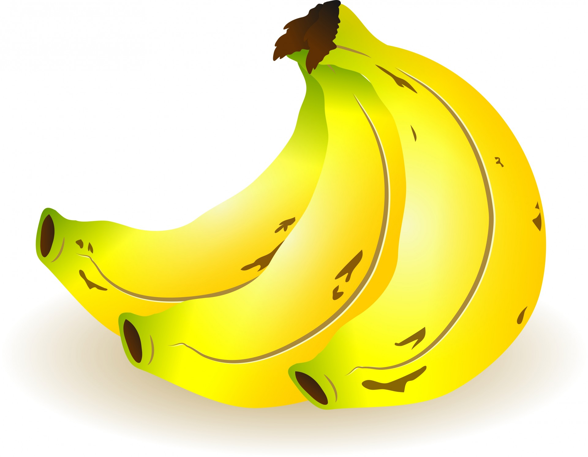 Bunch Of Bananas Free Stock Photo.