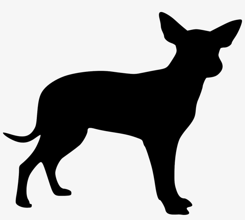 Puppy Clipart Silhouette.
