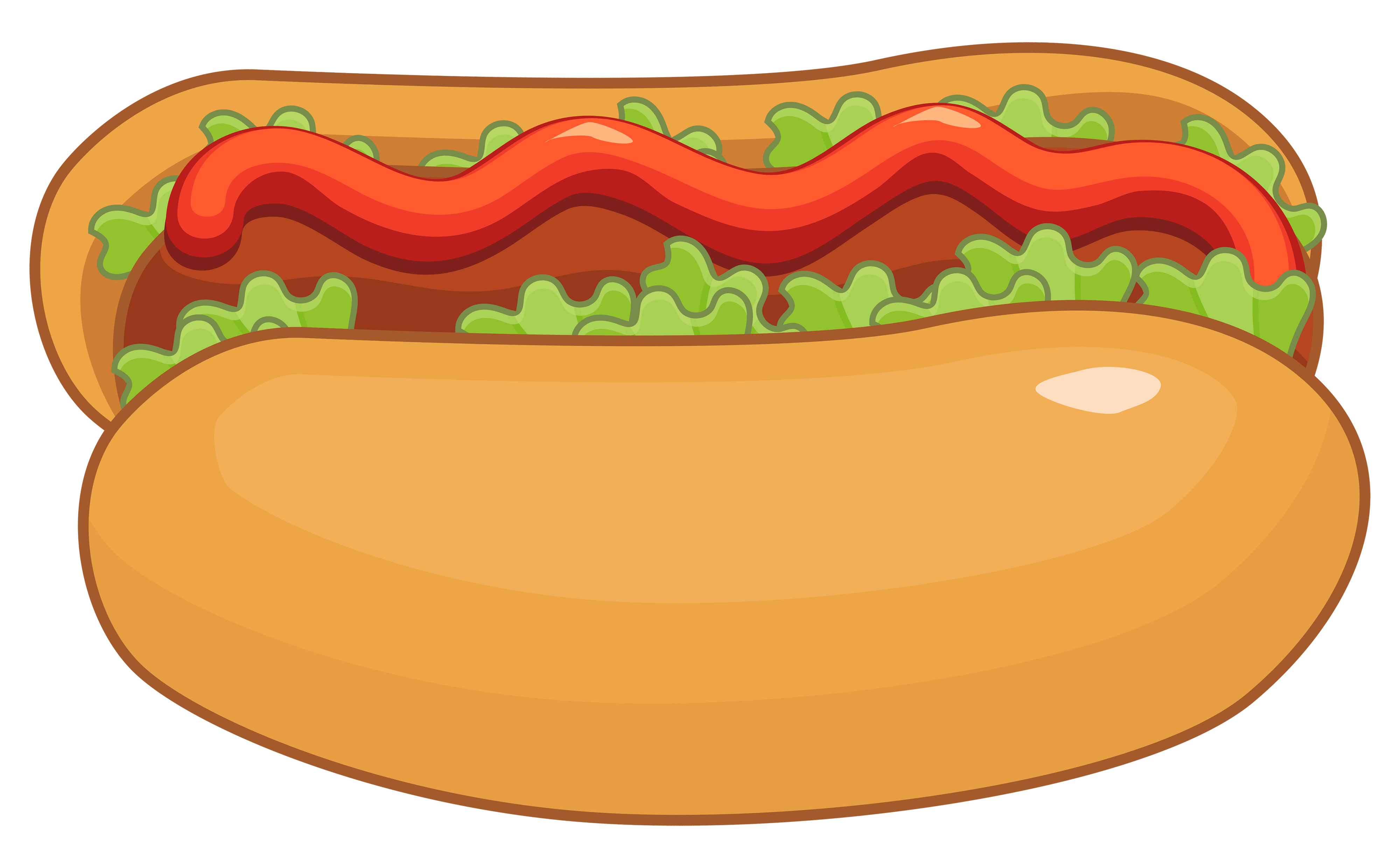 Hot Dog PNG Clipart.
