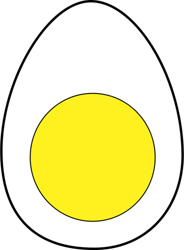 Vector image of egg.