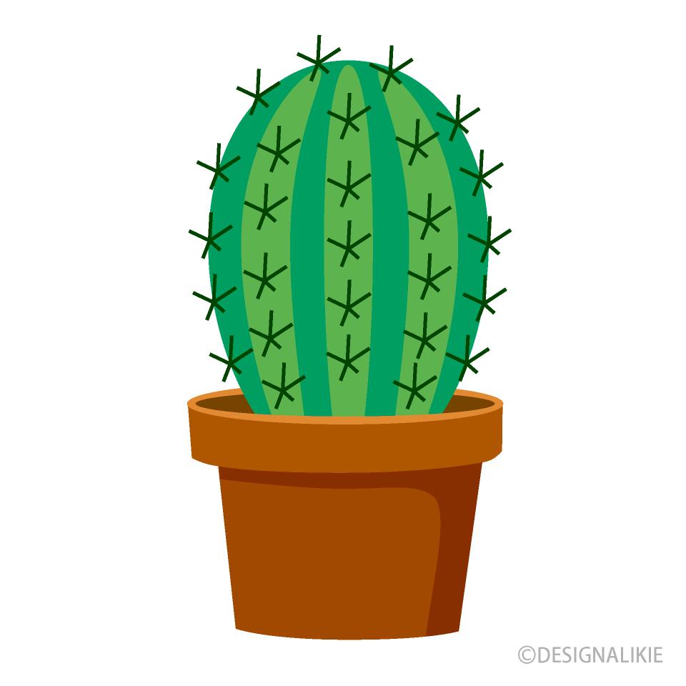 Free Cactus Clipart Image|Illustoon.
