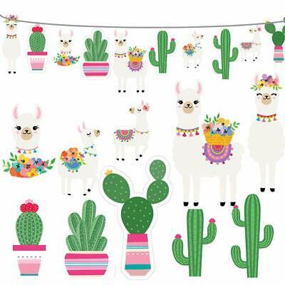 2019 Llama Cactus Banner Garland Party Supplies, Llama Cactus Themed  Birthday Pa 711181070125.