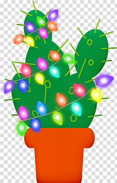 Christmas Lights, Cactus, Christmas Day, Succulent Plant.