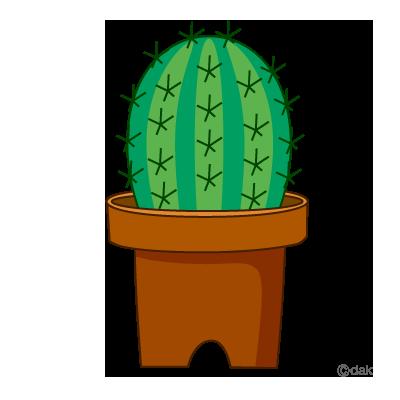 Cactus clip art 2 image.