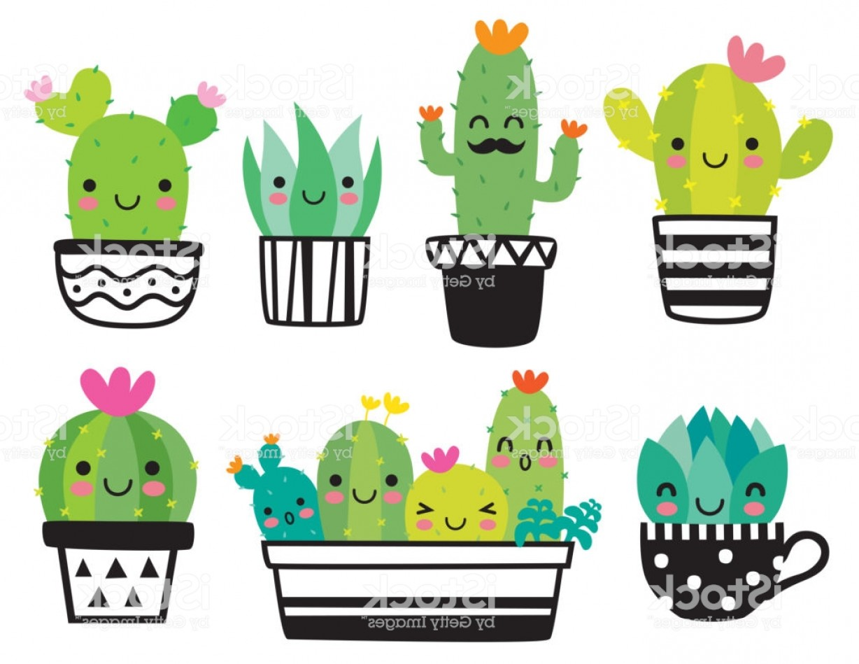 Cute Cactus Clipart (104+ images in Collection) Page 1.