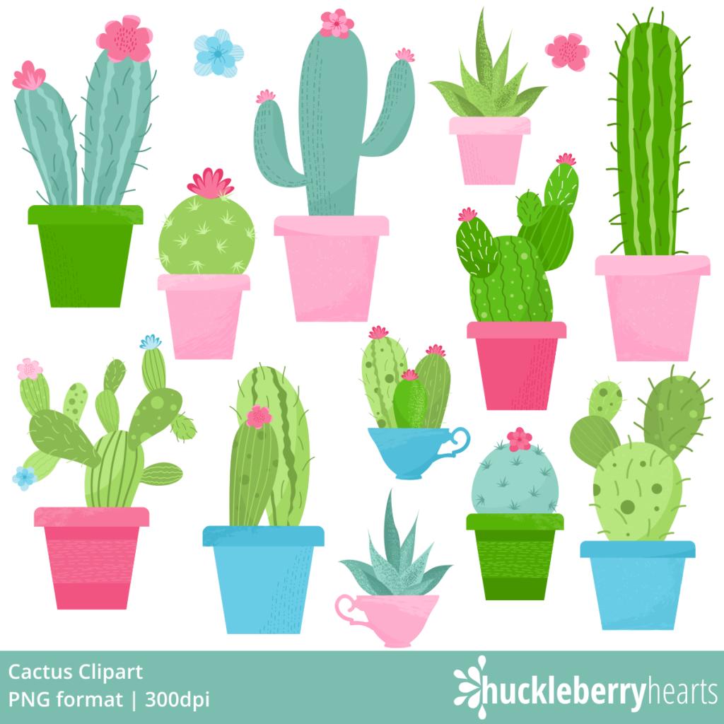 57+ Cactus Clipart.