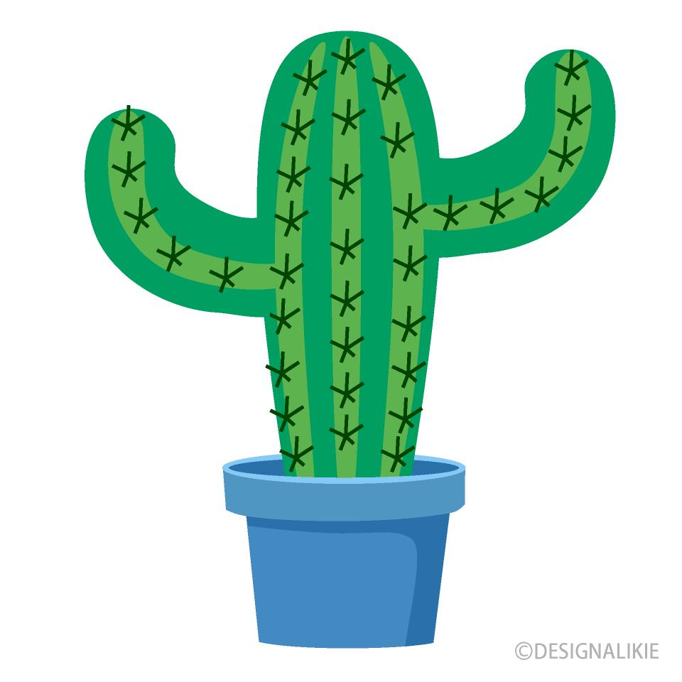 Free Big Cactus Clipart Image Illustoon.