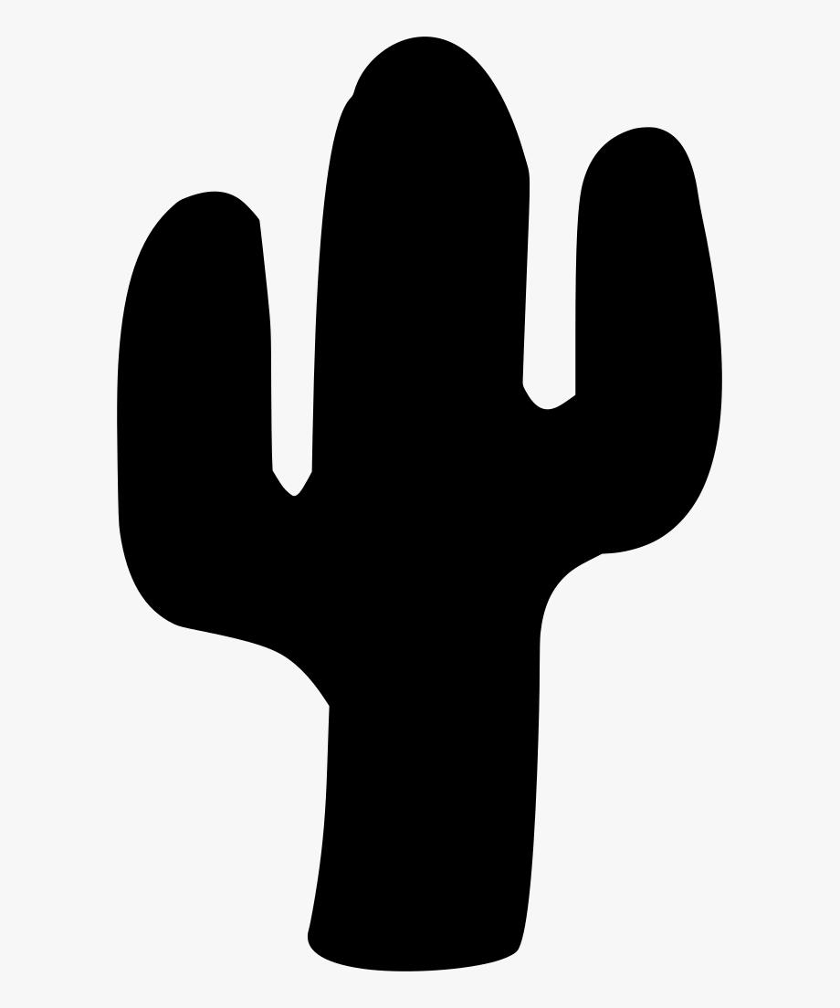 Cactus Svg Silhouette.