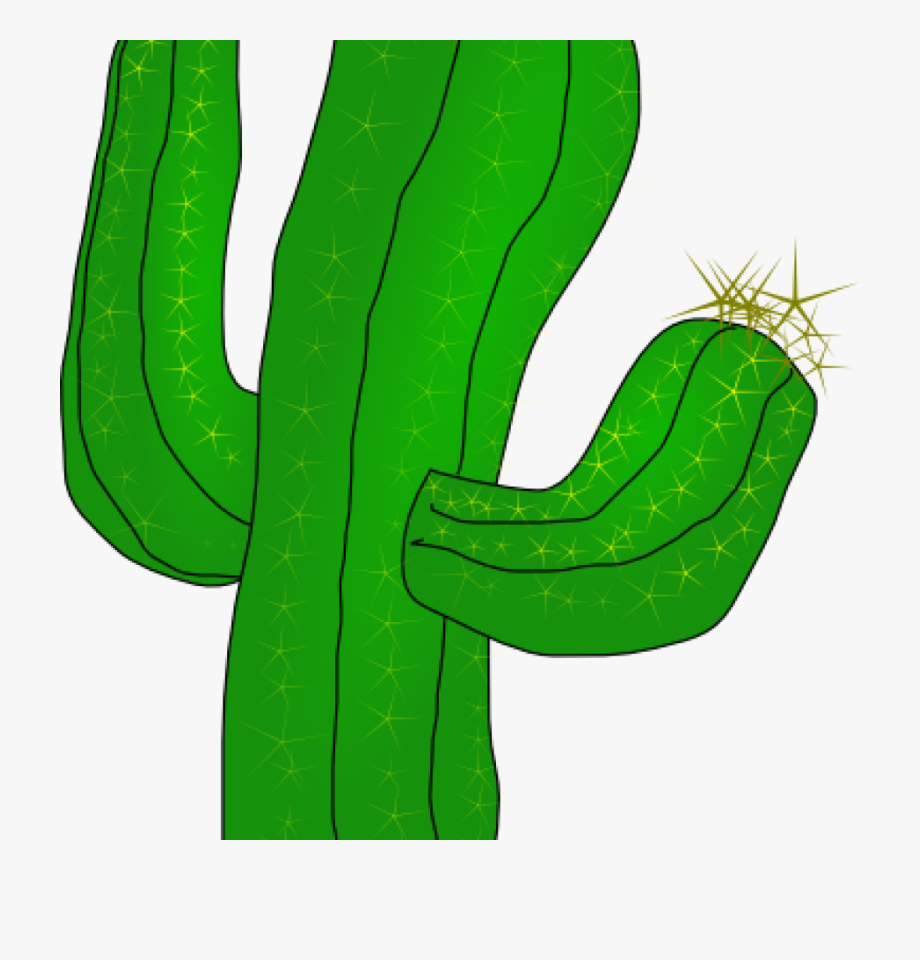 Cactus Clipart Saguaro Cactus Clip Art Free Vector.