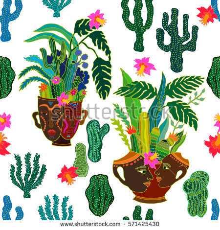 Cacti Stock Photos, Royalty.