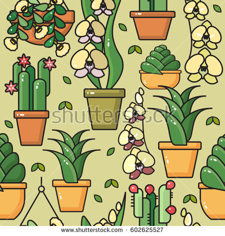 Indoor Herb Garden Stock Vectors, Images & Vector Art.