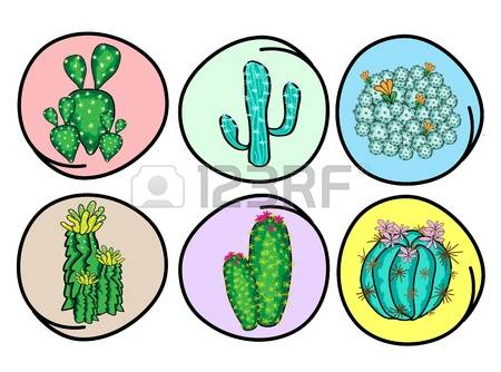 131 Freshness Cactus Stock Vector Illustration And Royalty Free.