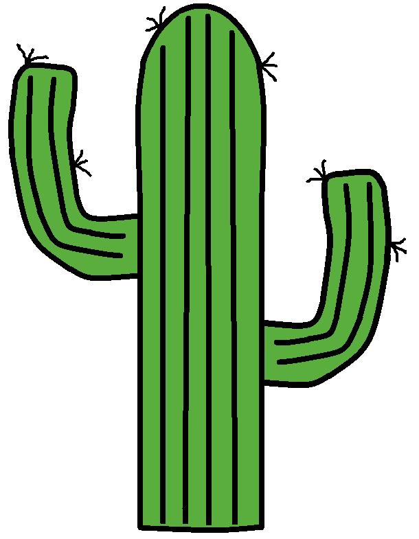 Saguaro Cactus Clipart - Clipground