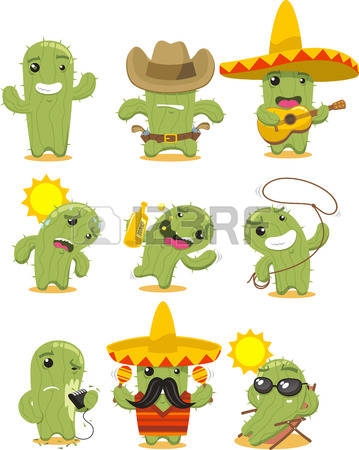 Cactus Green Stock Vector Illustration And Royalty Free Cactus.
