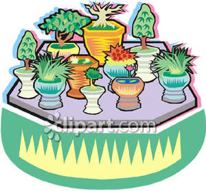 Plant nursery clipart.