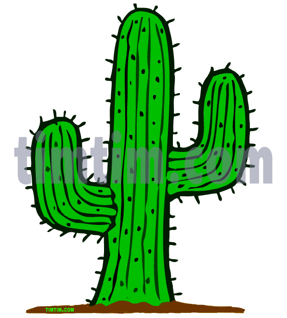 Free drawing of A Cactus from the category.
