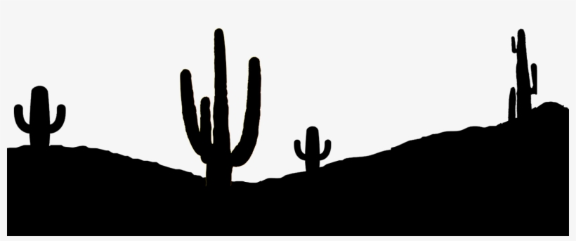 Cactus Silhouette Png.