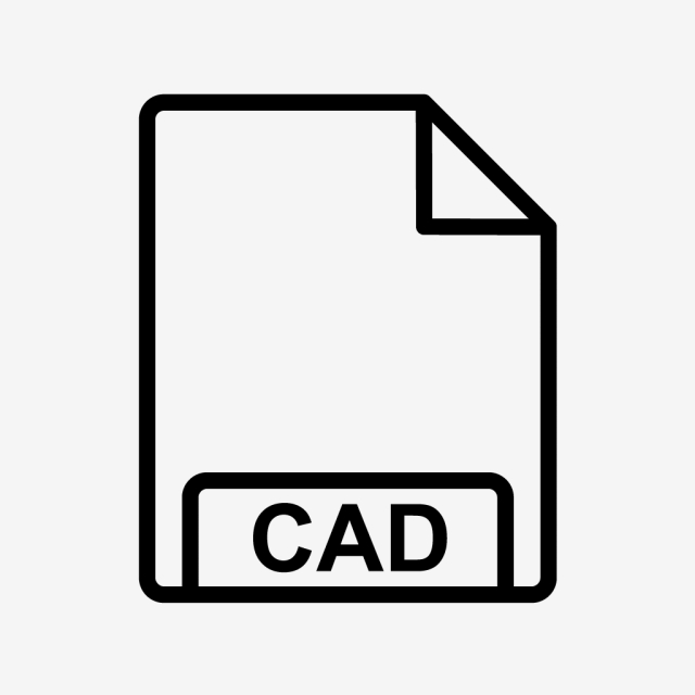 Vector Cad Icon, File, Format, File Format PNG and Vector with.