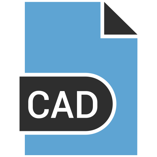 Cad, document, file, name icon.