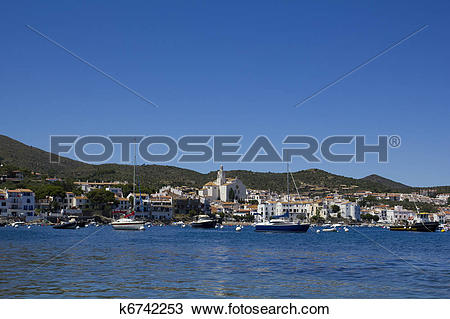 Stock Photo of Panorama of Cadaques. k6742253.