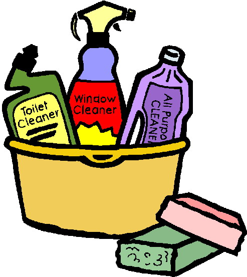 Clip Art Supply Caddy Clipart.