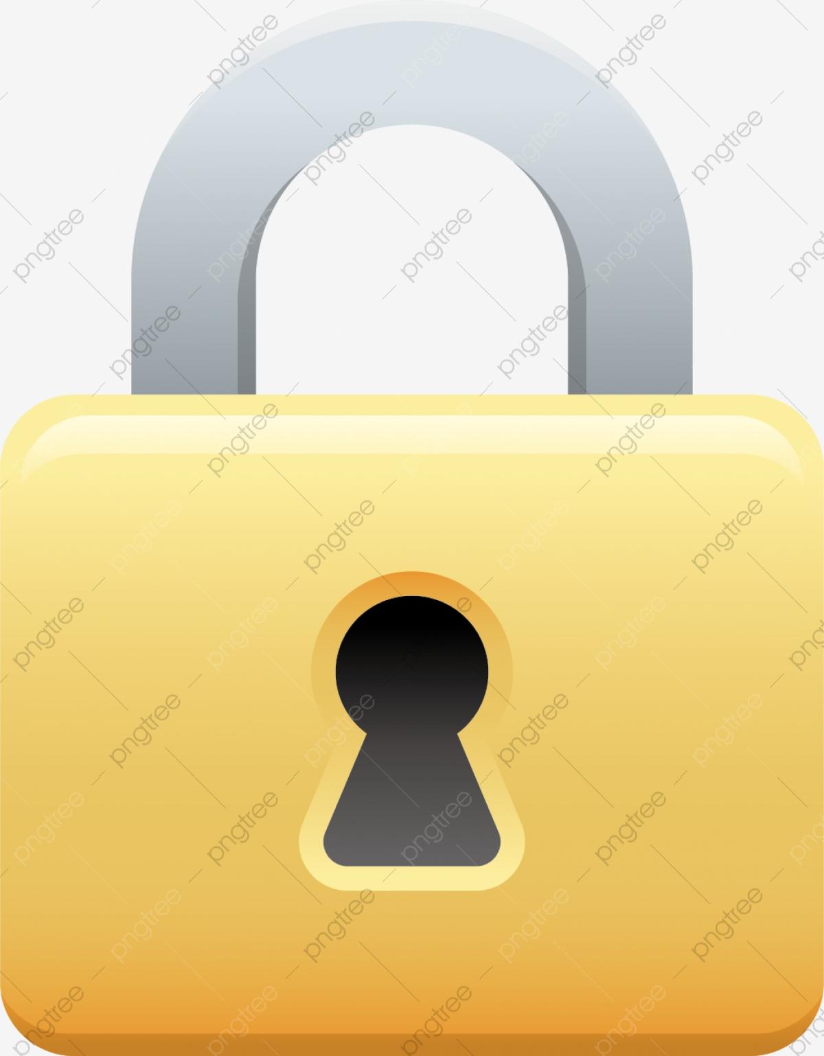 Material De Vetor De Cadeado Png, Lock, Segurança, A Ferramenta PNG.