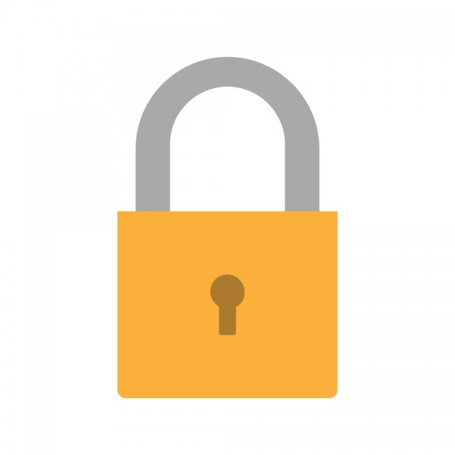 Cadeado Vector ícone, Locked Icon, ícone De Cadeado, Pad Lock Icon.