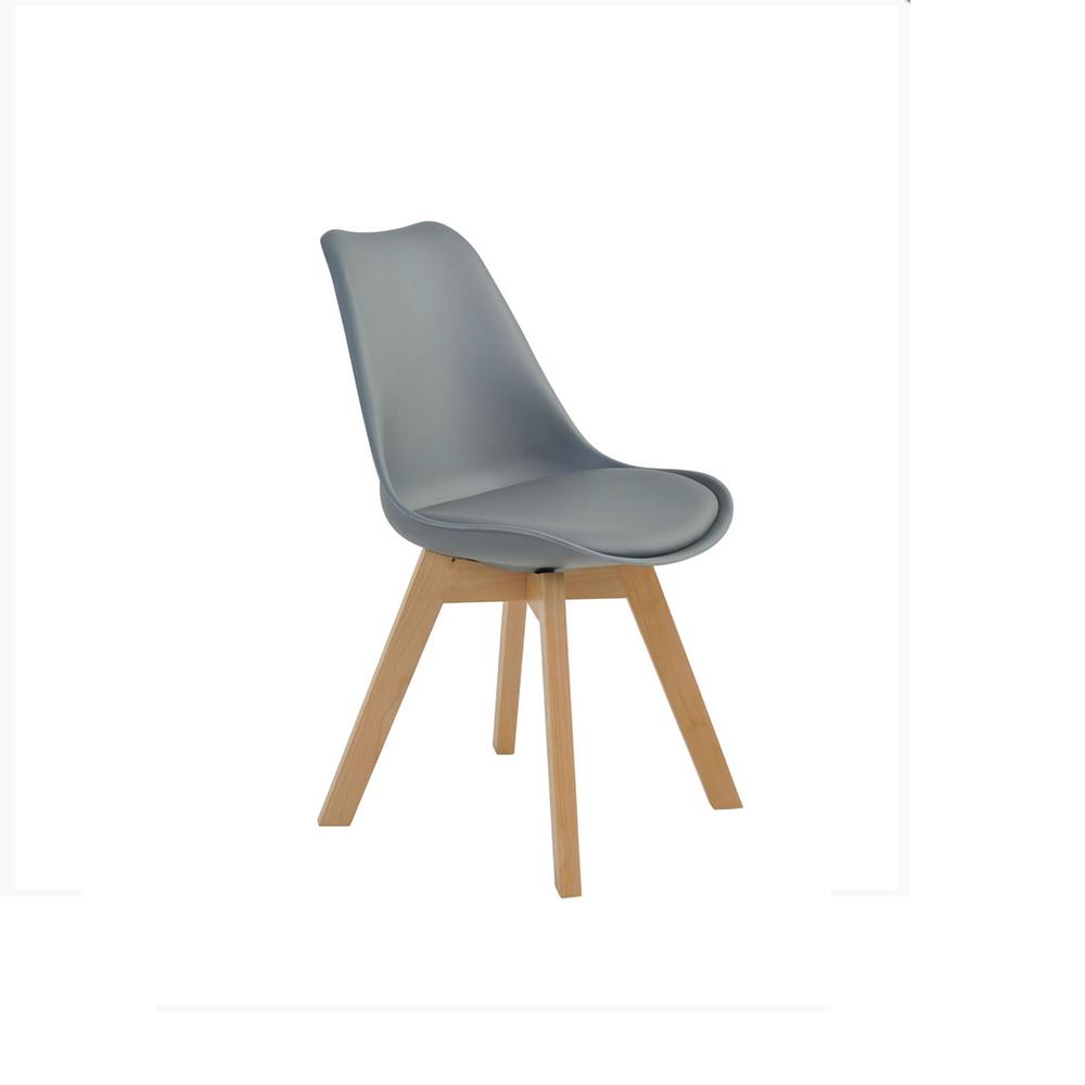 Cadeira Leda Cinza.