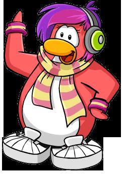 Club Penguin Clipart.