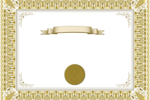 Cadre diplome png 7 » PNG Image.